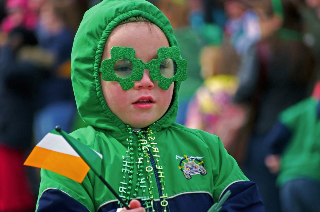 St Patrick's Day Kid